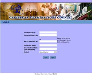 Your CXC exam registration records and personal exam ...
